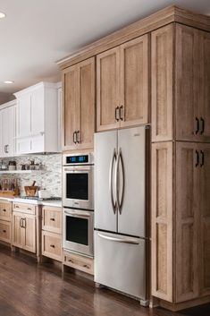 Cappuccino Brown Kitchen Cabinets