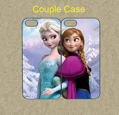 iphone 5c case,iphone 5c cases,iphone 5s case,cool iphone 5s case,cute iphone 5c case,iphone 5 case,5c case--frozen,anna and elsa,in plastic by Ministyle360, $28.99