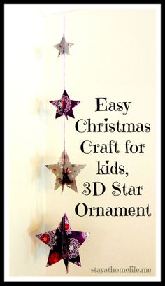 3D stay ornaments - LOVE!