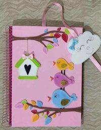 أفكار تزيين الدفاتر من الخارج للبنات سهلة وكيوت بالعربي نتعلم Scrapbook Cover Book Cover Diy Diy Notebook Cover