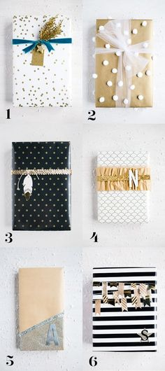 Take your wrapping to the next level! Glam Wrapping Ideas - step by step | Handmade Mood