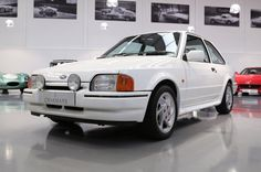 Ford Escort Mk4 RS Turbo (1987) – Fitted with a 1.6 litre CVH fuel injected engine and a Garrett T3 Turbo, it is able to produce an impressive 132 bhp. With a 0-60 of just 8.2 seconds and a top speed of 128mph, the standard anti-lock braking system featured on all RS Turbos is a must and had been lavishly praised by experts during its release.