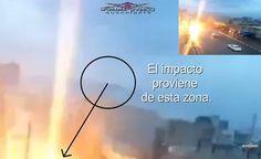EXTRATERRESTRE ONLINE: Batalha de UFOs no Céu? Suposto UFO atinge Automóvel com uma espécie de raio?