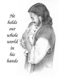 He holds our whole world in his hands jonah stillbirth stillborn grief miscarriage baby loss pregnancy pregnant death jesus faith love believe