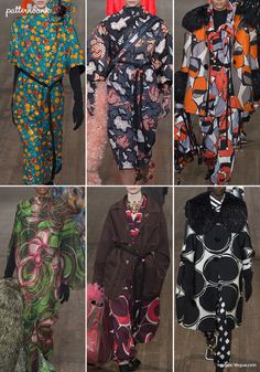 Marc Jacobs RTW collection was a bright burst of retro florals and over-scaled abstract shaped prints. Watch out for the highlights from London Fashio Over 50 Womens Fashion, Fashion Over 50, Fashion 2018, London Fashion, Fashion Weeks, Ladies Fashion, Fashion Prints, Fashion Design, Colorful Fashion