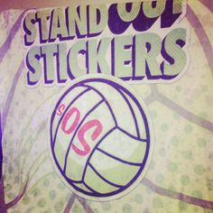 StandOut Stickers Volleyball Team Jersey