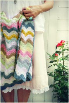 Crochet Blanket - Coco Rose Diaries