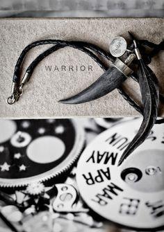 love warrior necklace