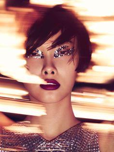 """Ji Young Kwakin """"Sleepless Night"""" Photographed byJem Mitchell&Styled byKathy PhillipsforVogue China,January 2014"""