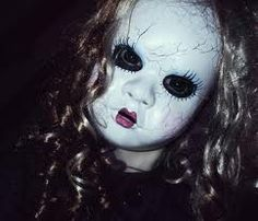 A Collection of 33 Terrifying Halloween Masks Creepy Doll Halloween Costume, Cool Halloween Masks, Terrifying Halloween, Halloween Circus, Scary Dolls, Holidays Halloween, Spooky Halloween, Halloween Costumes For Kids, Halloween Crafts