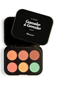 6 Color Concealer & Corrector Palette - Light