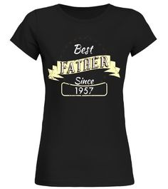 606b7fdaa68c Mens Best Father Since 1957 Funny T Shirt For Dad - Limited Edition - Round  neck