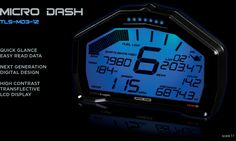 TransLogic Micro Dash Digital LCD Gauges for the Kawasaki Ninja 250R