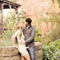 A beautiful and romantic fall engagement session taken among the Napa Valley Vineyards at Beringer Winery.