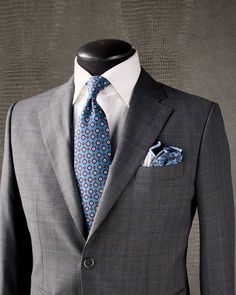 mens suits with Modern Mens Fashion, Mens Fashion Suits, Mens Suits, Blue Check Suit, Suit Combinations, Air Force Blue, Checked Suit, Mode Chic, Suit And Tie