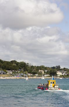 The ferry from Padstow to Rock #Cornwall