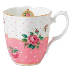 Royal Albert Cheeky Mug in Pink - BedBathandBeyond.com