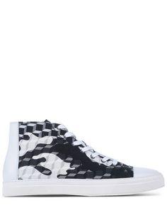 PIERRE HARDY High-Top Sneakers. #pierrehardy #shoes #sneakers