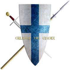 Gilles de Croix. This knight took the Cross in 1218 to join the fifth crusade. His presence at the crusader camp before Damietta is recorded by a contract for a loan that he took out with Italian merchants. This bearing his personal seal of arms.