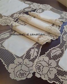 Crochet Doilies, Handicraft, Diy And Crafts, Knitting, Lace, Instagram, Women, Towels, Tejidos