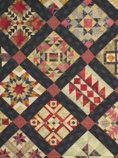 close up, Totally Insane  quilt. The Salinda Rupp Quilt - Kilmore Kwilters Challenge 2008 - posted by Lorraine at Picasa Web Albums