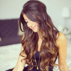 party hairstyles half up half down - Google Search