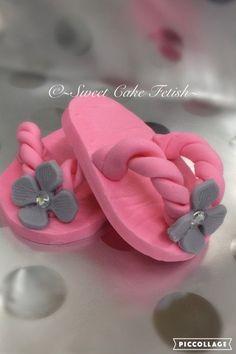 Chaussures bébé Cake Topper par SweetCakeFetish sur Etsy