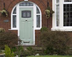 A lovely Chartwell Green Bespoke Newark Rockdoor recently installed. #UltimateRockdoor