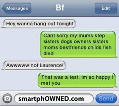 41 New Ideas funny love quotes for him hilarious humor awesome Funny Texts Pranks, Text Pranks, Funny Texts Jokes, Text Jokes, Funny Text Fails, Cute Texts, Funny Text Messages, Funny Relatable Memes, Funny Quotes