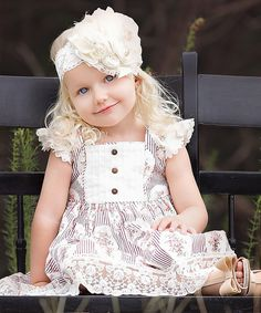 Look at this Be Girl Clothing Red & White Mabel Dress - Infant, Toddler & Girls on #zulily today!