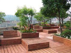 Fresh And Cool Rooftop Garden Designs - Interior Vogue