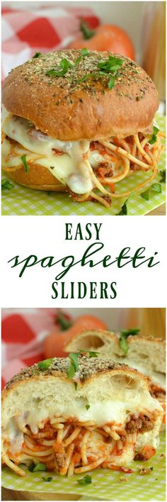 Easy Spaghetti Sliders is hearty spaghetti and garlic bread all wrapped up in one cheesy little slider! Make a few, or make a lot, either way they are super easy to make and are a hit with kids and…