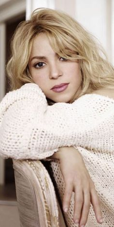 Shakira-love Love LOVE Shakira!  I even had to learn some Spanish because her songs made me want to learn what her beautiful words meant.  Inspiration.  Confidence. Motivation.