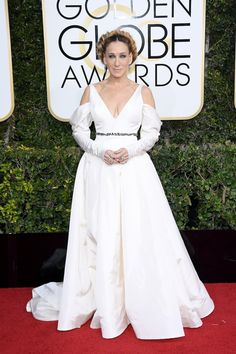 Sarah Jessica Parker in Vera Wang Collection