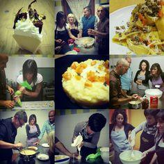 """II' edizione corso di cucina """"PRIMI IN CATTEDRA"""" Qui le altre foto: http://www.incucinaconmaxeandre.it/wordpress/?page_id=485"""