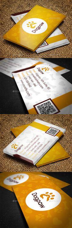 Pet Shop Business Card Template #design Download: http://graphicriver.net/item/pet-shop-business-card/11490089?ref=ksioks