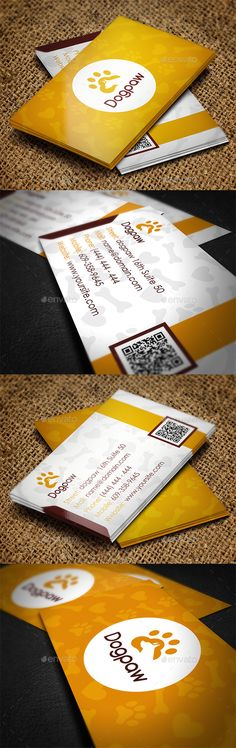 Pet Shop Business Card Template #design Download: http://graphicriver.net/item/pet-shop-business-card/11490089?ref=ksioks