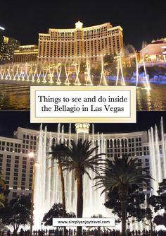Bellagio in Las Vegas - Travel inspo - Bellagio Hotel Las Vegas, Las Vegas Hotel Deals, Vegas Hotel Rooms, Las Vegas Restaurants, Las Vegas Trip, Vegas Vacation, Vacation Ideas, Hotels For Kids, Nightlife Travel