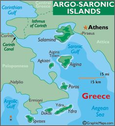 Spetses location on the Greece map Civilizacin Griega Pinterest
