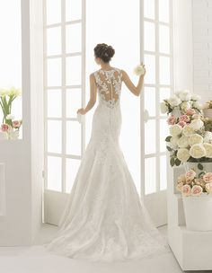 CALDERA - Robe de mariée AIRE BY ROSA CLARA 2017