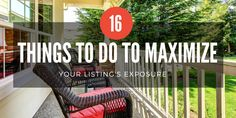 16 things you can do right now to maximize your listing's exposure | Inman