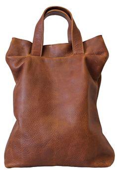 Sonja heeft het gemaakt leren schoudertas - leather shoulder bag