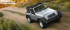 Jeep® Wrangler | Finitions du 4x4 : Sport - Sahara - Rubicon