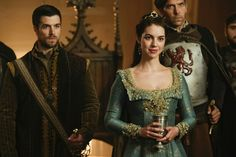 Reign, season 4, episode 6, Love and death. James and Queen Mary.