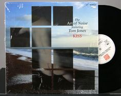 "The Art Of Noise Featuring Tom Jones -  Kiss - Vinyl 12"" Single Record 1988"