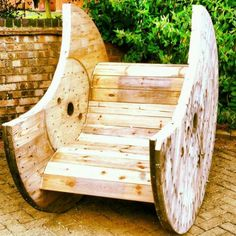 Cable drum rocking chair on Gumtree. Hand made cable drum rocking chair, can be hand made to order. 1 available to take away, custom orde