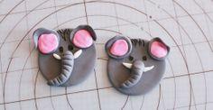 Elephant Cupcake Topper Tutorial