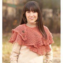 Simple Shaped Shawl Crochet Yarn Kit - Willow Yarns