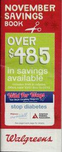 WALGREENS $$ November 2013 Coupon Booklet!