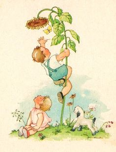 grete scheufler Children Images, Vintage Images, Artist, Painting, Illustrations, Nostalgia, Vintage Pictures, Artists, Painting Art